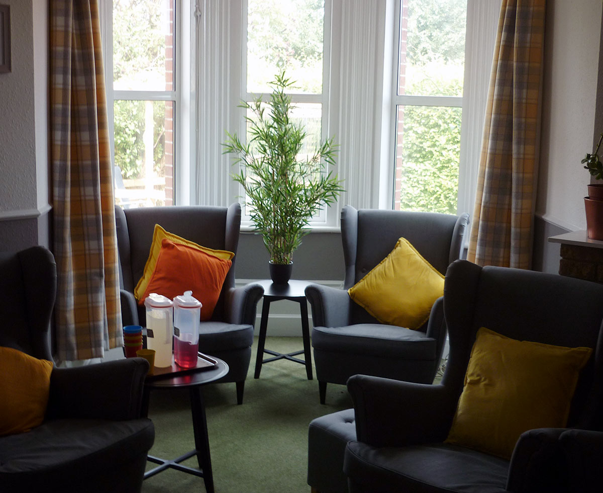 aston house care home lower lounge